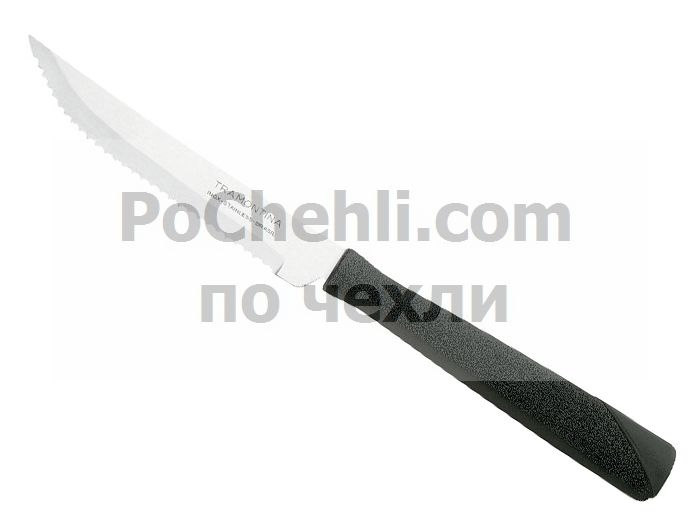 Нож с черна дръжка, 3 бр., New Kolor Tramontina