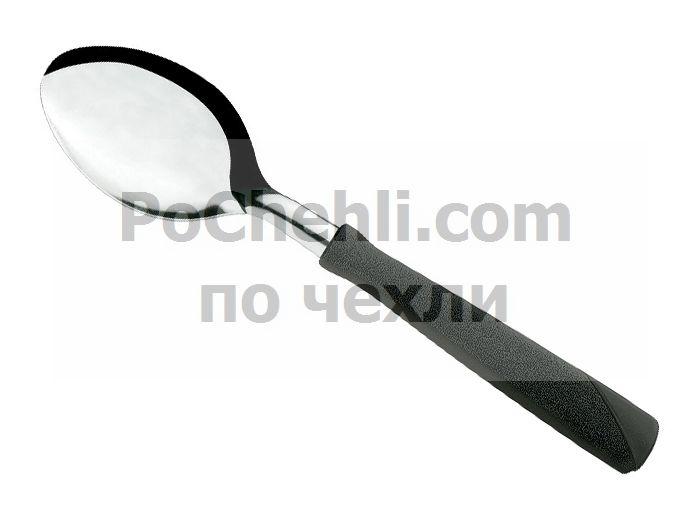 Лъжица с черна дръжка, 3 бр., New Kolor Tramontina