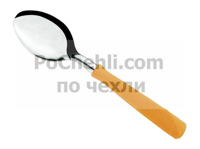 Лъжица с оранжева дръжка, 3 бр., New Kolor Tramontina