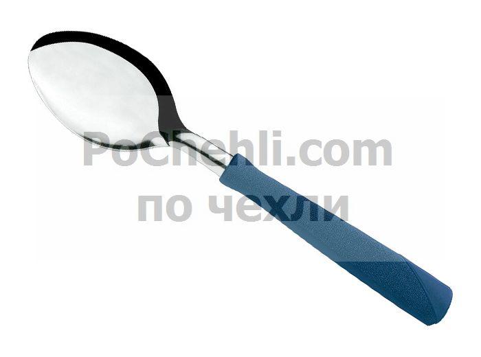 Лъжица със синя дръжка, 3 бр., New Kolor Tramontina
