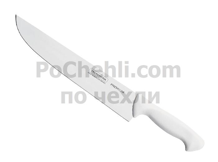 Нож за месо с бяла дръжка, 1 бр., Premium Tramontina