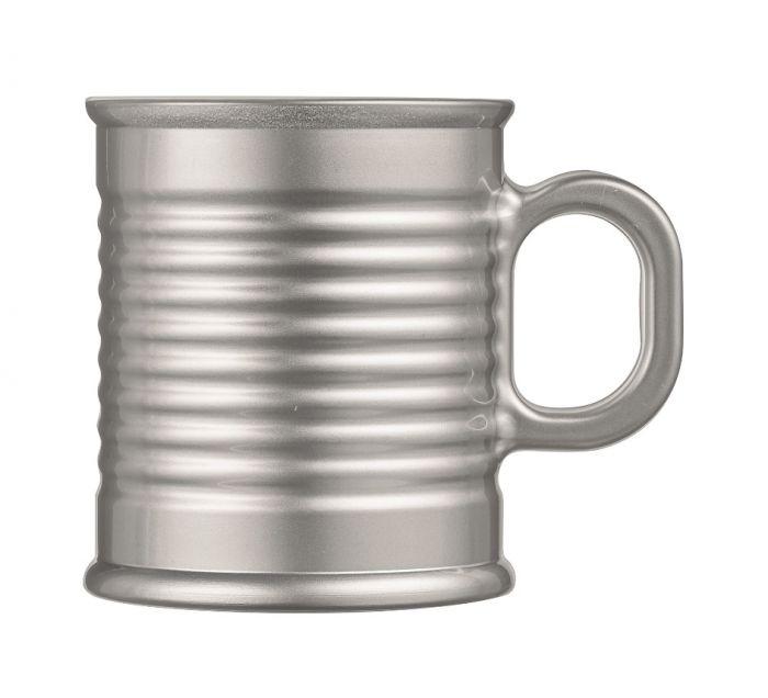Чаша за топли напитки Conserve Moi Alur сребриста, Luminarc
