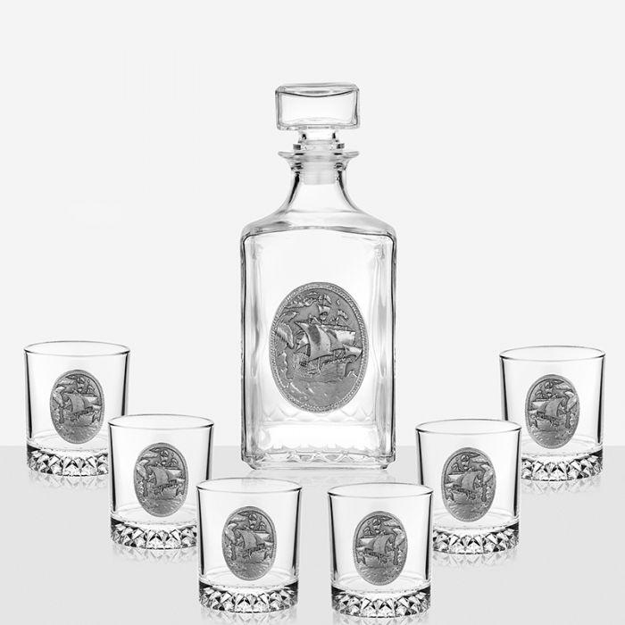 Комплект за уиски Кораб, Artina Австрия