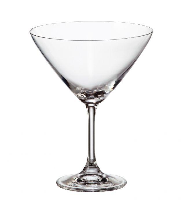 Комплект 6 бр. чаши за мартини, Crystalite Bohemia