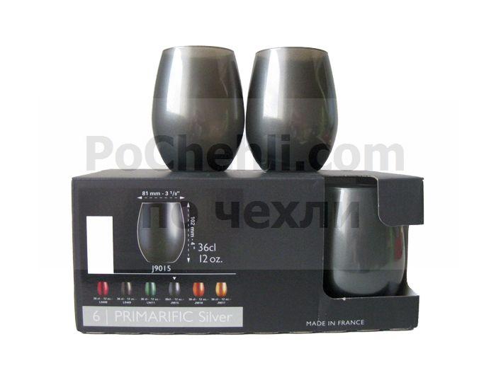 Чаши за вода и безалкохолно Primarific Silver, Chef & Sommelier