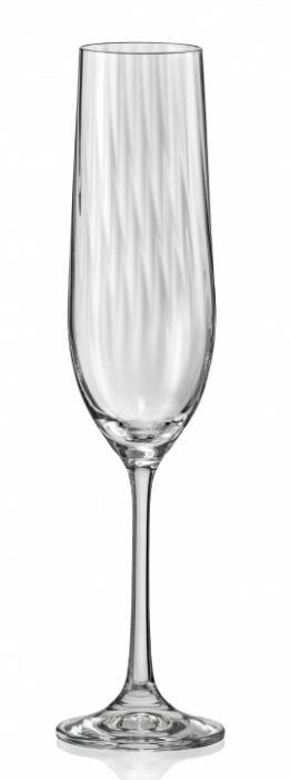 Чаши за шампанско флейта Bohemia Waterfall