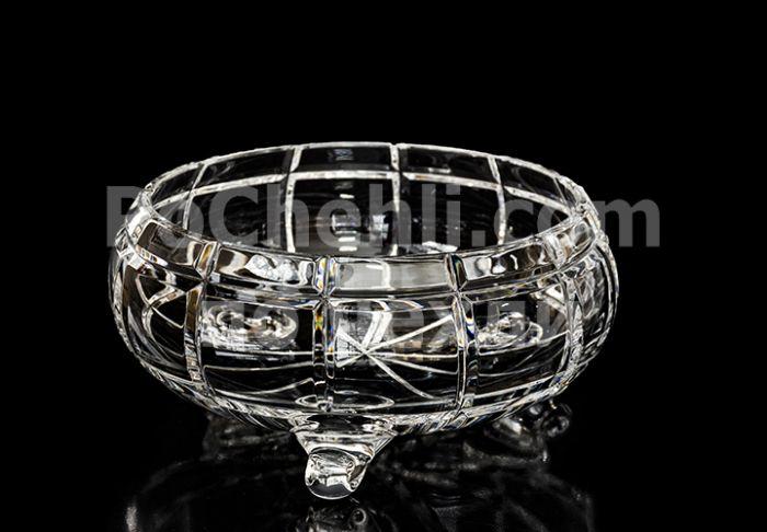 Кристална купа кръгла 21 см