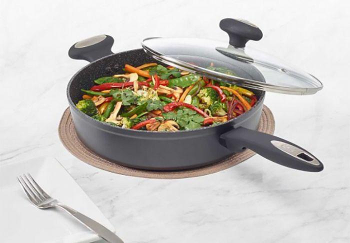 Cook Zyliss индукционен тиган с капак 28 см