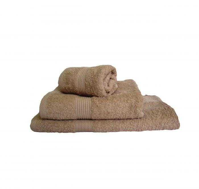 Хавлиена кърпа бежово, к-кт от 3 бр.