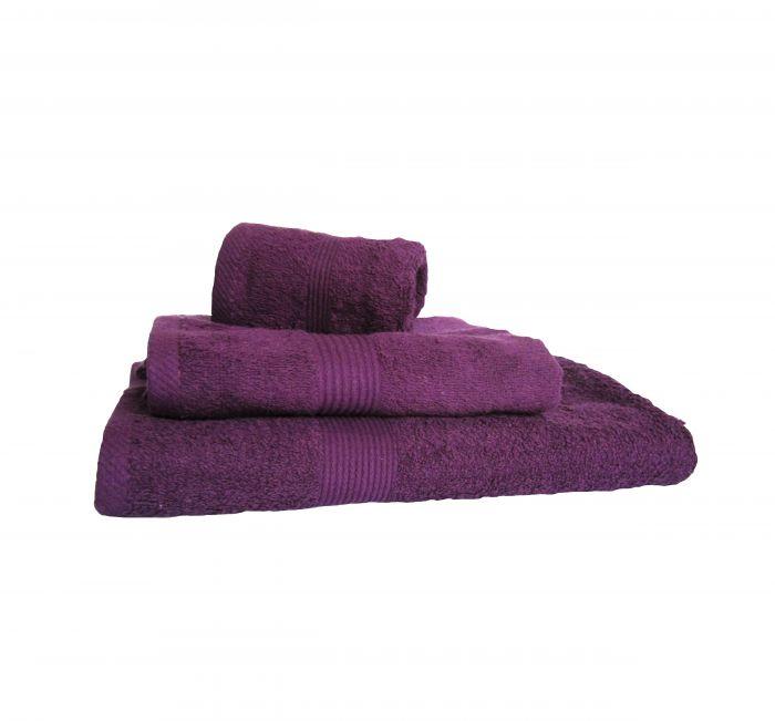 43ab9045346 Хавлиена кърпа лилаво, к-кт от 3 бр.