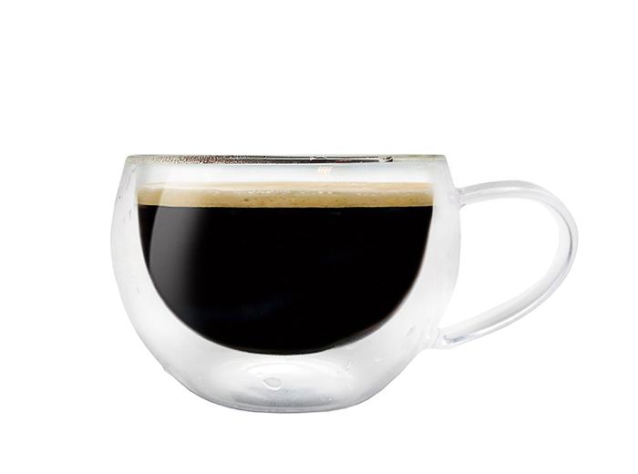 Двустенни стъклени чаши за кафе и чай Nerthus, 2 бр. по 200 мл, Vin Bouquet Испания