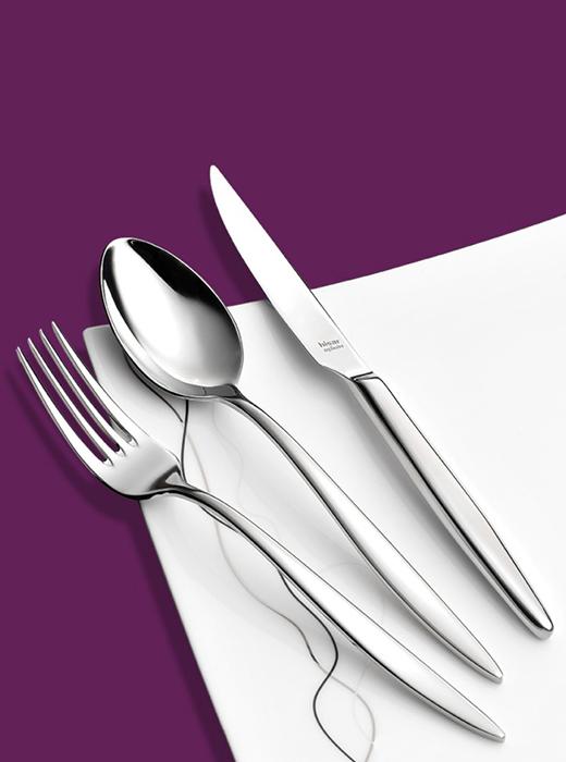 Прибори за хранене Hisar MERCURY, 89 части
