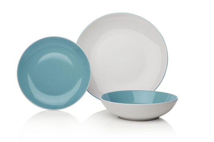 Сервиз за хранене 12 части Duck Egg Stoneware