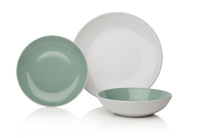 Сервиз за хранене в маслено зелено Sabichi Stoneware