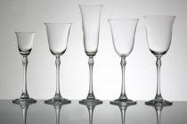 BOHEMIA Fuchsia чаши за вино и ракия 5023 - Pochehli