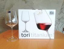 Чаши за розе и червено вино Tori Bohemia 490 мл