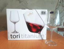 Чаши за червено вино Tori Bohemia 600 ml 7187 - Pochehli