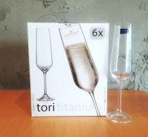 Bohemia Tori чаши за шампанско 210 мл 7727 - Pochehli