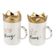 Чаши за чай King & Queen