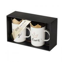 Чаши за кафе и чай Кралят и Кралицата 16792