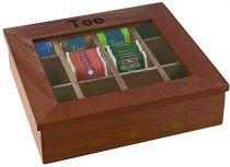 Кутия за чай APS дървена