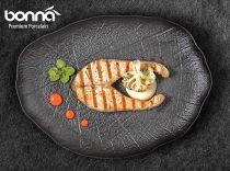 Овална чиния SHADE, 37 см, BONNA Турция 10363 - Pochehli