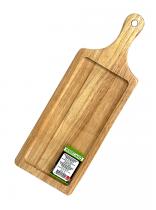 Правоъгълна дъска за презентиране с дръжка, 34 х 14 см, Horecano
