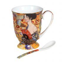 Чаша за чай Дамата с ветрилото