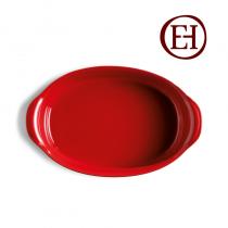 Овална тава Emile Henry червена