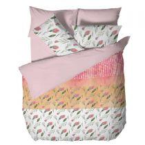 Спално бельо Цветя в розово Панагюрище