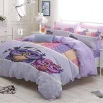 Детско спално бельо Бухалчета