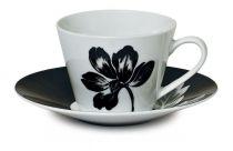 Порцеланов сервиз за чай и кафе, 12 части