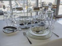 Бял сервиз за хранене, порцелан 9228 - Pochehli