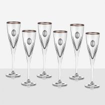 чаши за шампанско FUSION RCR CRYSTAL