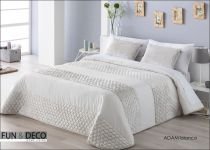 Луксозно шалте за спалня ADAM в бяло, Antilo Textil