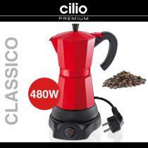 Кафеварка електрическа CILIO червена