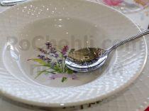 Супена чиния Пролетни цветя порцелан