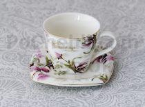Чаши за кафе Цветя