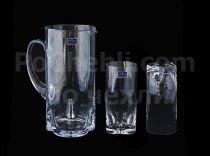 Сервиз чаши и кана Bohemia Trio