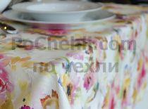 Покривка за маса разцъфнали цветя