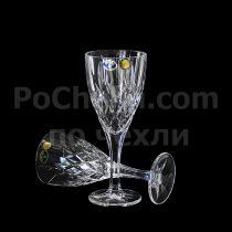 Кристални чаши за бяло вино Brixton 250 мл, Crystal Bohemia