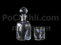 Комплект за уиски Bohemia Trio 5055 - Pochehli