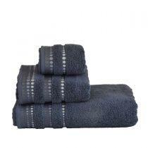 Хавлиена кърпа Изида в сиво 100% памук 5677 - Pochehli
