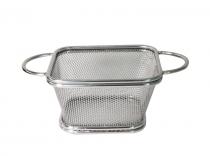 кошничка за сервиране хром HORECANO