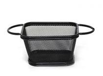 кошничка за сервиране черна HORECANO