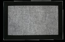 Подложка за сервиране черна с кант, правоъгълна 30 * 45 см