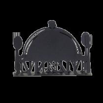 Сълфетник от черен метал Блюдо