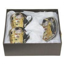Порцеланови чаши за кафе Целувката 52614