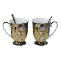 Чаши за чай Целувката за двама