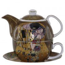 Чайник с чаша Целувката